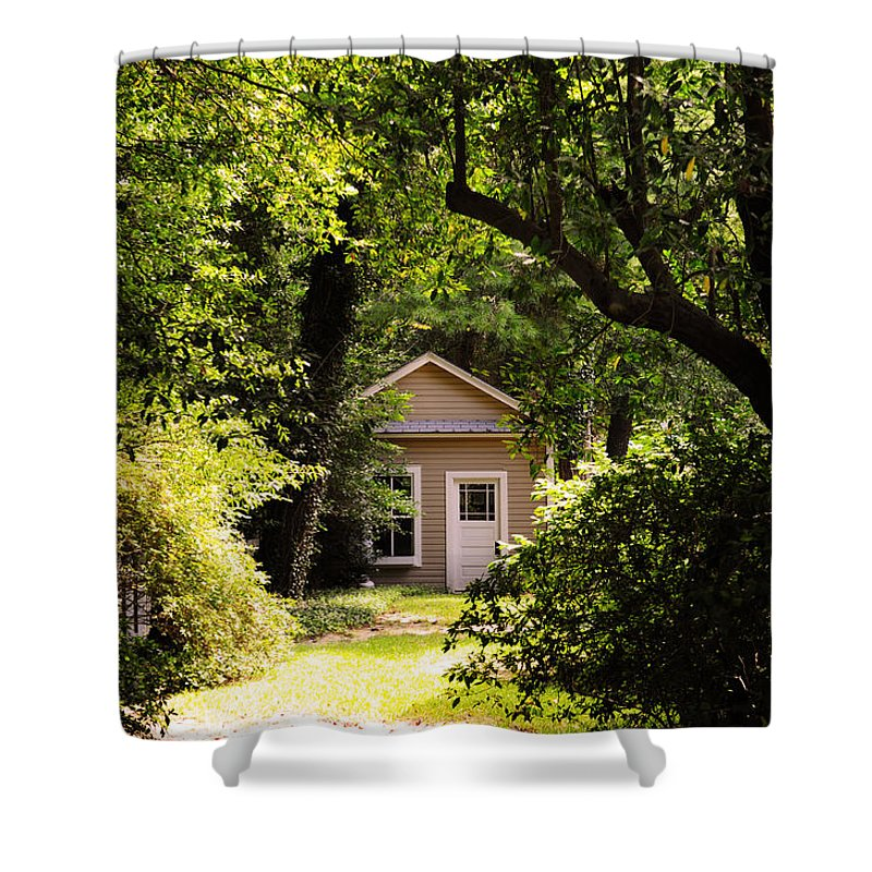 Pinehurst Shower Curtain featuring the photograph My Secret Dreaming Place by Paulette B Wright