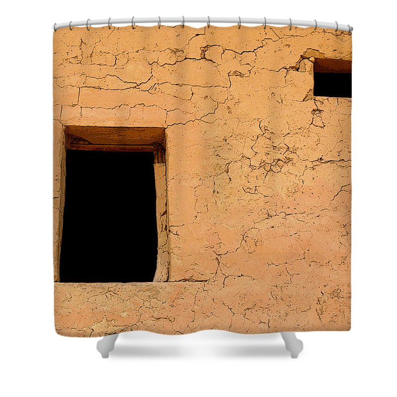 Adobe Shower Curtain featuring the photograph Mysterious Places by Joe Kozlowski