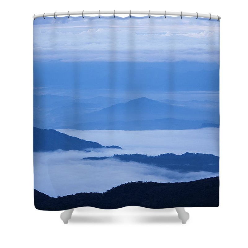 View Shower Curtain featuring the photograph Mystique by Andrew Paranavitana