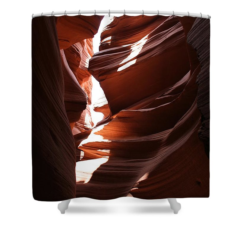 Canyon Shower Curtain featuring the photograph Narrow Canyon Ix by Christiane Schulze Art And Photography