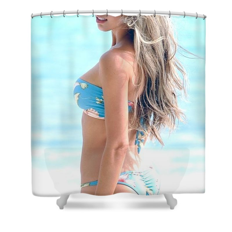 Naturacel Shower Curtain featuring the photograph Naturacel Even In Case You Pick A Cream by Fowakox Eca