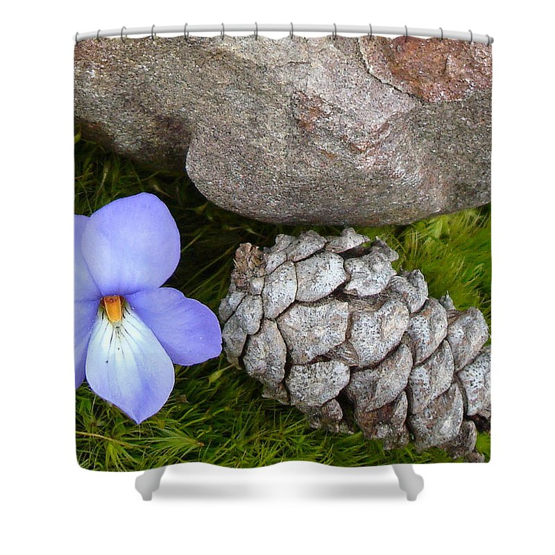 Kathy Bucari Shower Curtain featuring the photograph Natural Beauty by Kathy Bucari