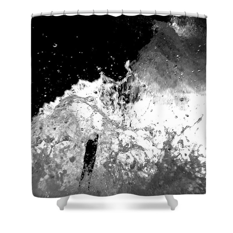 Water Shower Curtain featuring the photograph Natural Power by Amanda Barcon