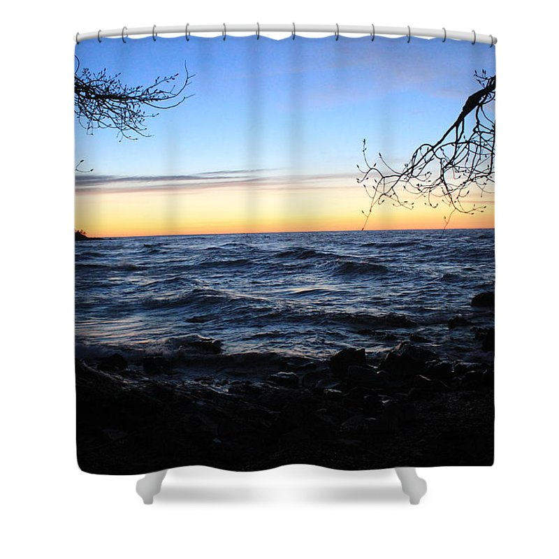 Pure Shower Curtain featuring the photograph Nature Frame by Two Bridges North