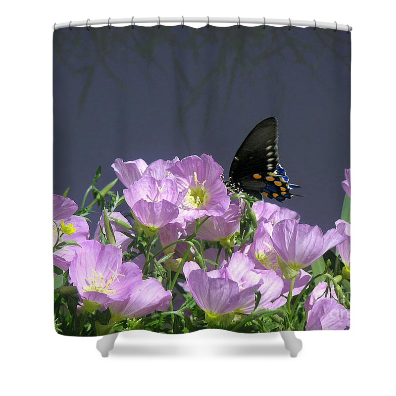 Nature Shower Curtain featuring the photograph Nature In The Wild - Profiles By A Stream by Lucyna A M Green