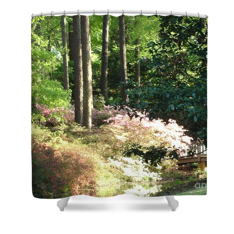Photography Shower Curtain featuring the photograph Nature by Shelley Jones