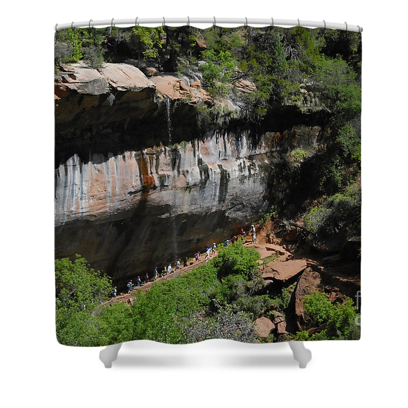 Photography Shower Curtain featuring the photograph Natures Classroom by David Lee Thompson
