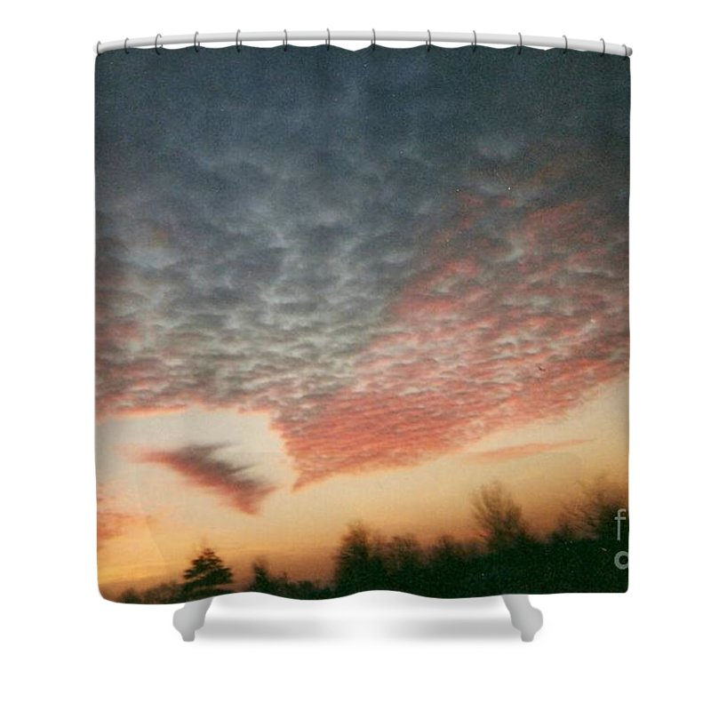 Landscape Shower Curtain featuring the photograph Natures Palette by Stephen King