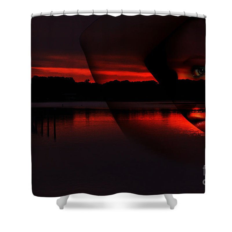 Clay Shower Curtain featuring the photograph Nautical Goddess by Clayton Bruster
