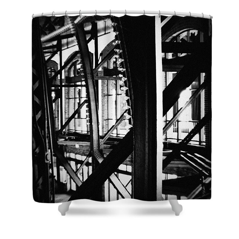 Chicago Shower Curtain featuring the photograph Navy Pier Grand Ballroom by Kyle Hanson
