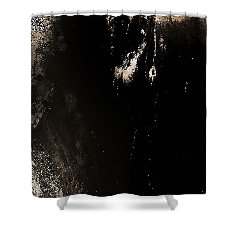 Photo Manipulation Shower Curtain featuring the photograph New Geography 2 by Austin Howlett