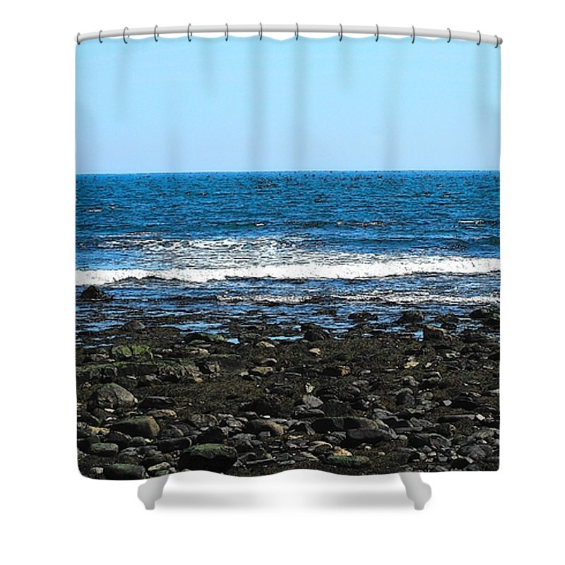 Photo Shower Curtain featuring the photograph New Hampshire Seacoast by Barbara S Nickerson