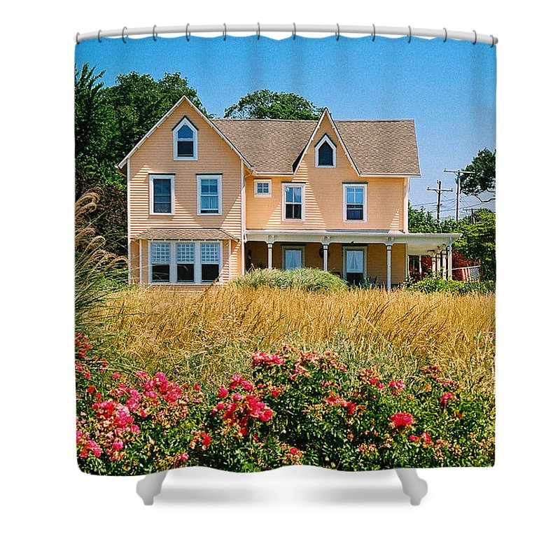 Landscape Shower Curtain featuring the photograph New Jersey Landscape by Steve Karol