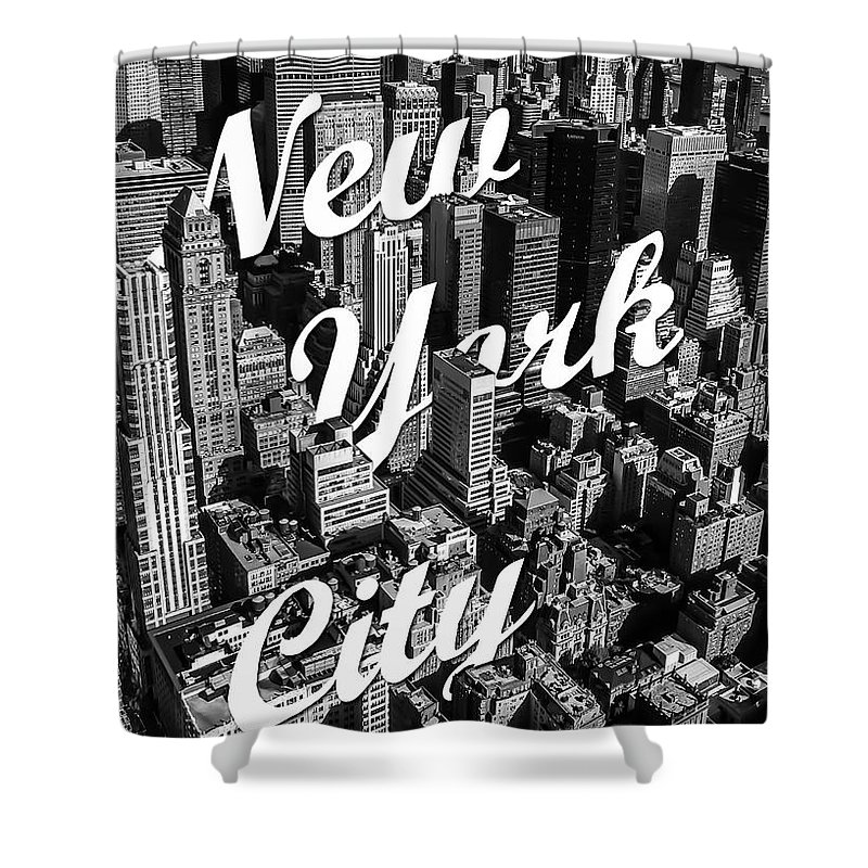 New York Shower Curtain featuring the photograph New York City by Nicklas Gustafsson