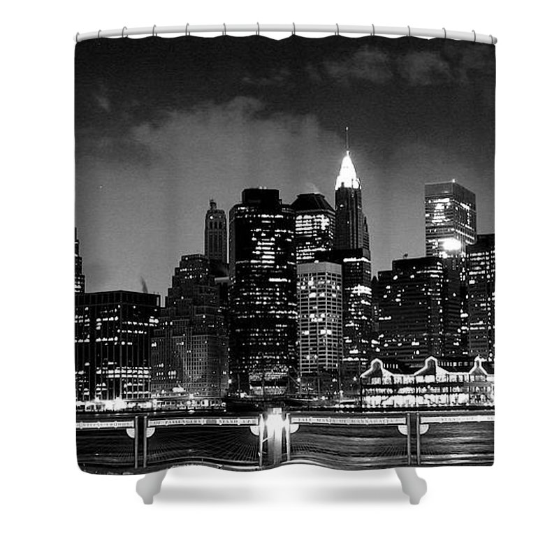 New York Shower Curtain featuring the photograph New York by Joyce Sherwin