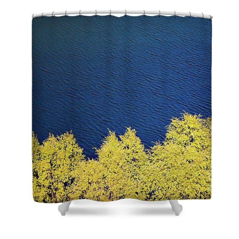 New Zealand Shower Curtain featuring the photograph New Zealand Autumn by Doug Sturgess