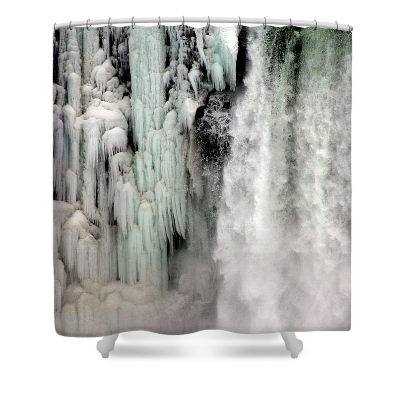 Landscape Shower Curtain featuring the photograph Niagara Falls 5 by Anthony Jones