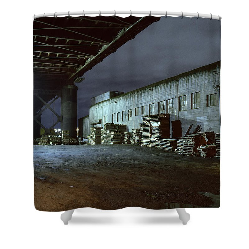 Nightscape Shower Curtain featuring the photograph Nightscape 1 by Lee Santa