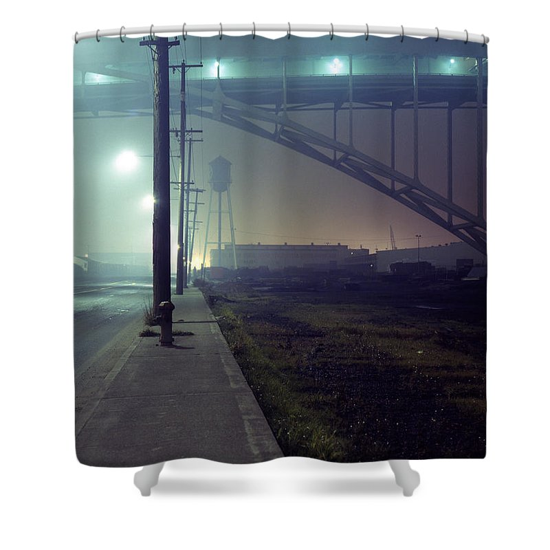 Night Photo Shower Curtain featuring the photograph Nightscape 2 by Lee Santa