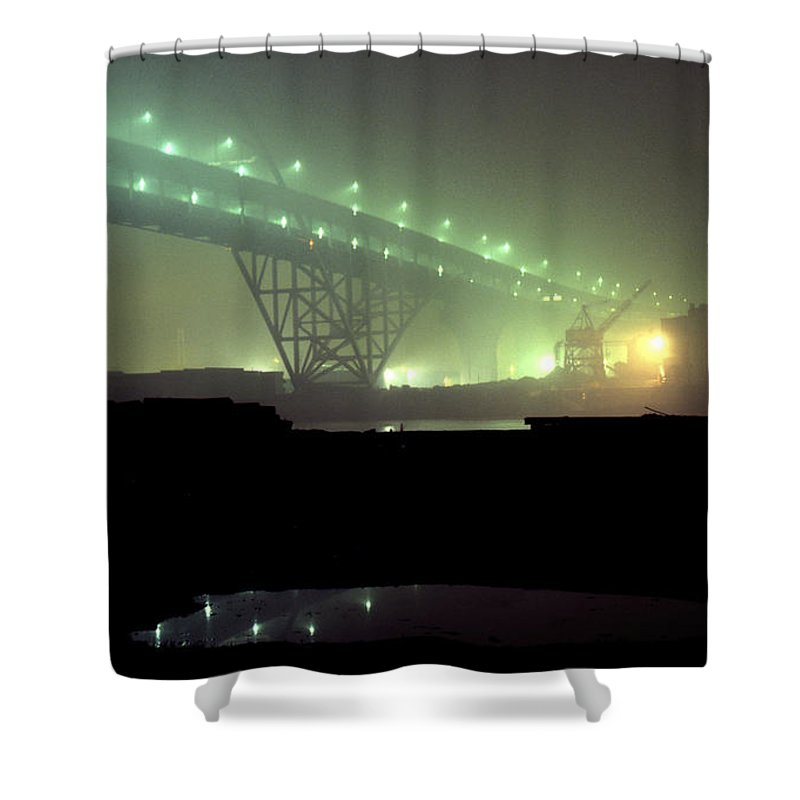 Night Photo Shower Curtain featuring the photograph Nightscape 3 by Lee Santa