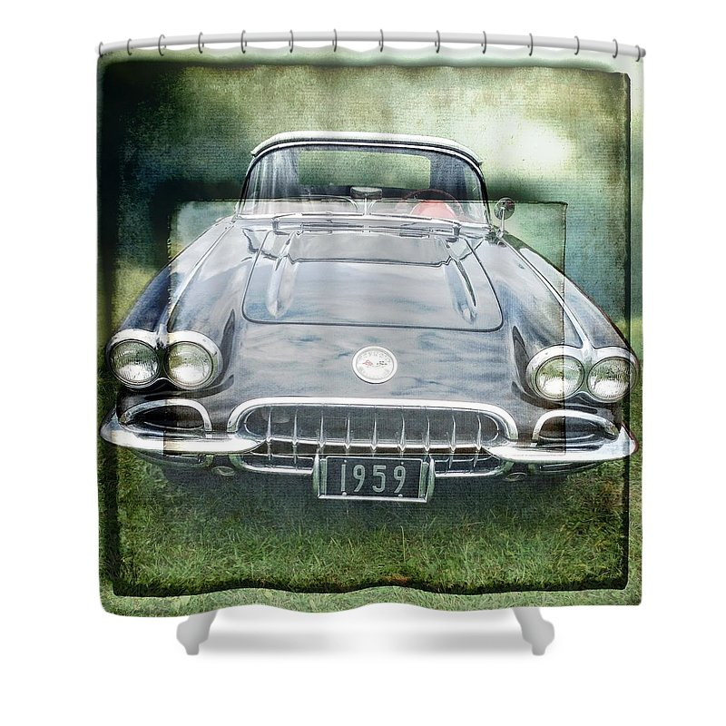 Alicegipsonphotographs Shower Curtain featuring the photograph Nineteen Fiftynine by Alice Gipson