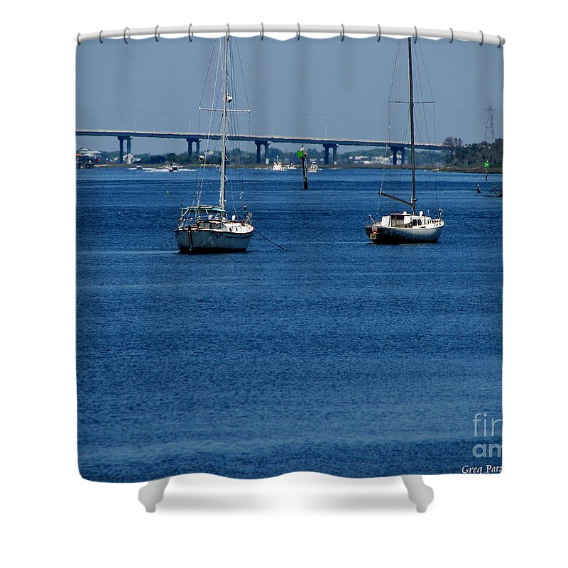Patzer Shower Curtain featuring the photograph No Yard Work by Greg Patzer