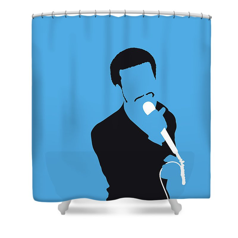 Kurtis Shower Curtain Featuring The Digital Art No139 My Blow Minimal Music Poster By Chungkong