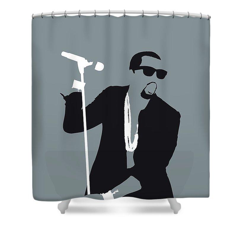 Art Kanye West Shower Curtains