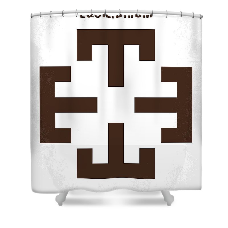 Equilibrium Shower Curtain Featuring The Digital Art No595 My Minimal Movie Poster By Chungkong