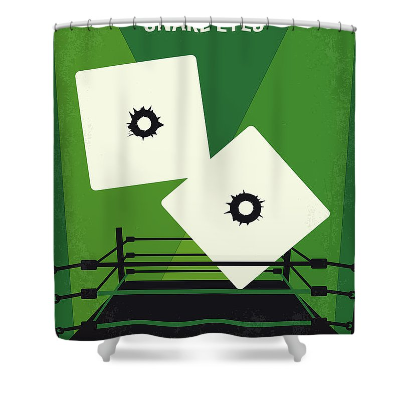 No898 My Snake Eyes Minimal Movie Poster Shower Curtain For Sale By Chungkong Art