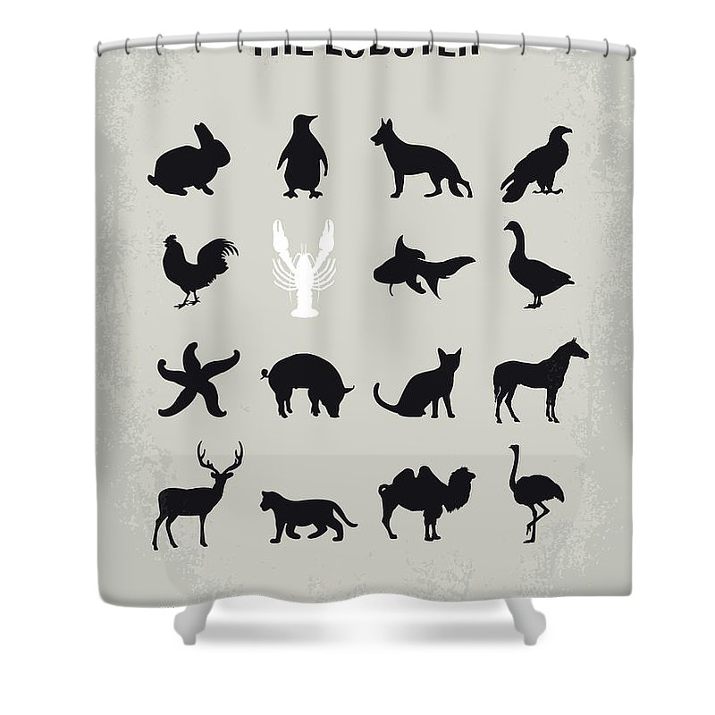 No939 My The Lobster Minimal Movie Poster Shower Curtain For Sale By Chungkong Art