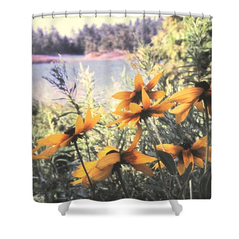 North Channel Shower Curtain featuring the photograph North Channel Beauties by Ian MacDonald