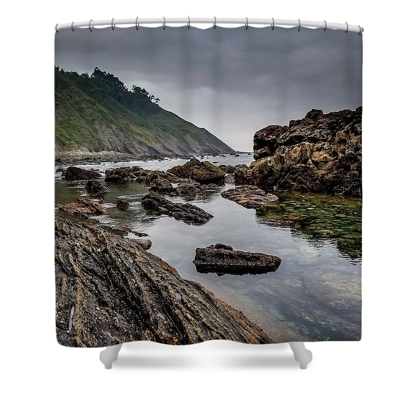 Coast Shower Curtain featuring the photograph Northern Coast by Ric Schafer