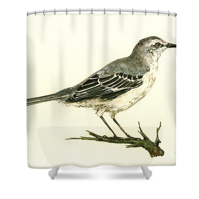 Mockingbird Shower Curtains