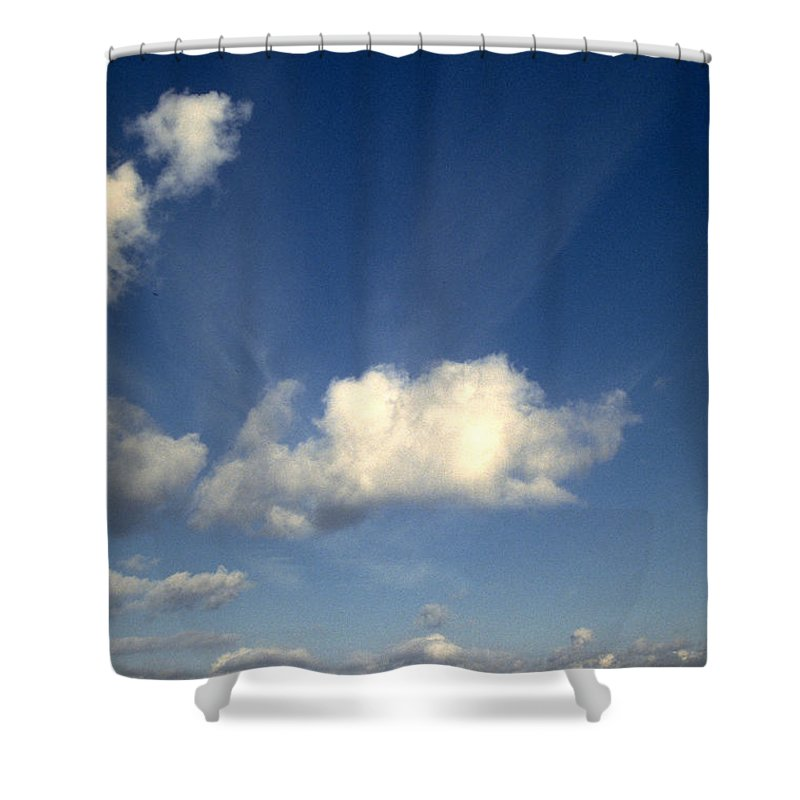 Northern Sky Shower Curtain featuring the photograph Northern Sky by Flavia Westerwelle