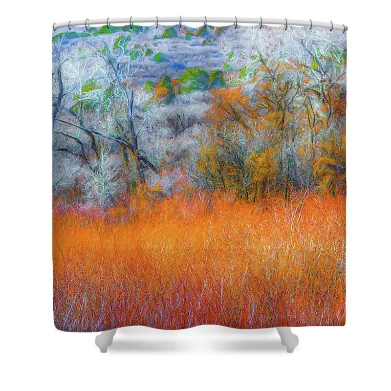 Shower Curtain featuring the photograph November by Dean Arneson