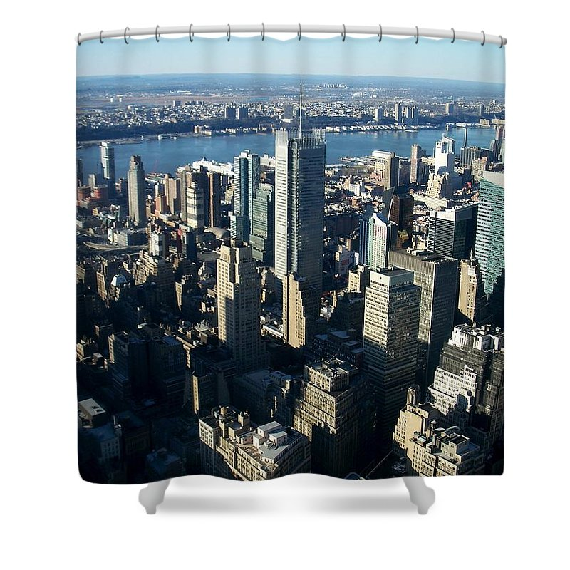 Nyc Shower Curtain featuring the photograph Nyc 1 by Anita Burgermeister