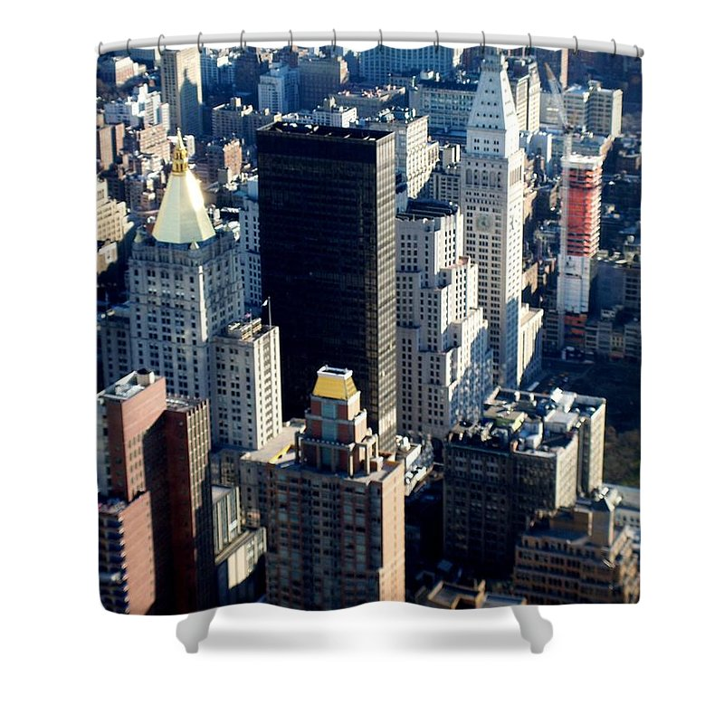 Nyc Shower Curtain featuring the photograph Nyc 2 by Anita Burgermeister