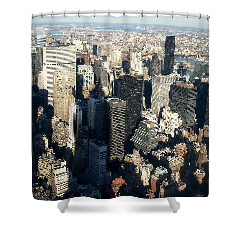 Nyc Shower Curtain featuring the photograph Nyc 3 by Anita Burgermeister