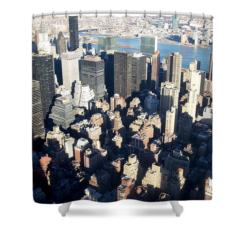 Nyc Shower Curtain featuring the photograph Nyc 4 by Anita Burgermeister