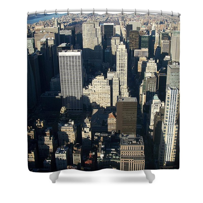 Nyc Shower Curtain featuring the photograph Nyc 5 by Anita Burgermeister