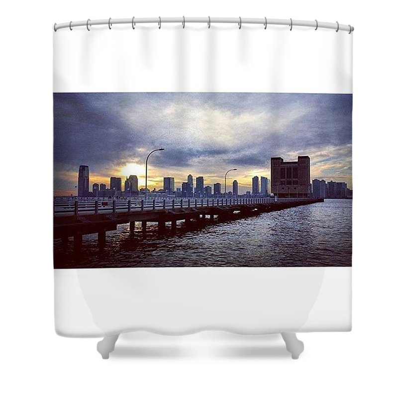 Beautiful Shower Curtain featuring the photograph New York City by Janel Cortez