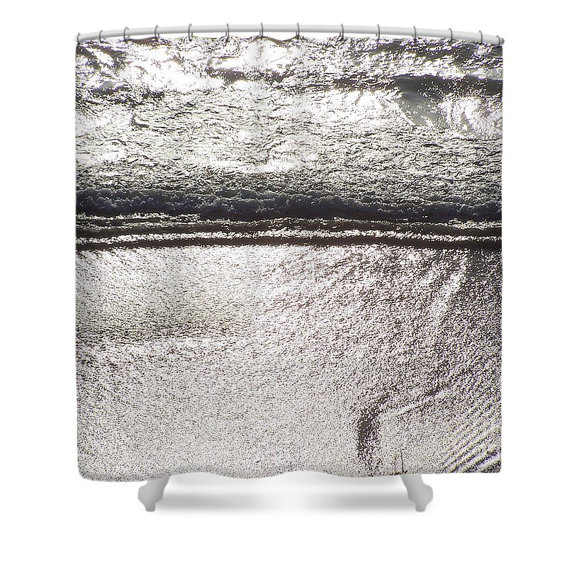 Ocean Shower Curtain featuring the photograph Ocean Of Light by Brian Commerford