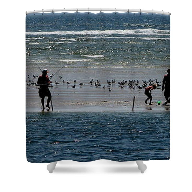 Atlantic Ocean Shower Curtain featuring the photograph Ocean Way by Greg Patzer