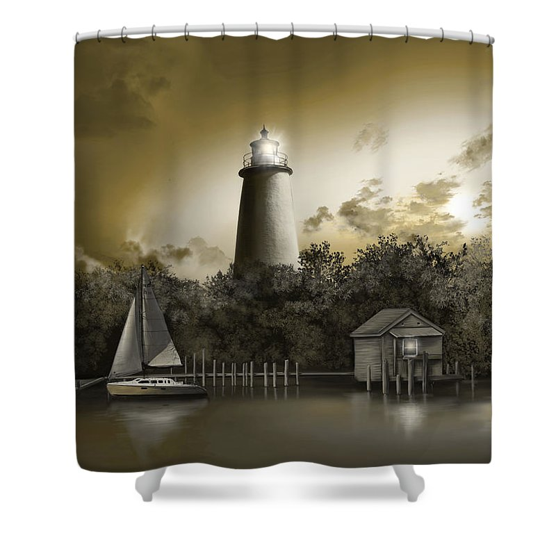 Designs Similar to Ocracoke Lighhouse Sepia