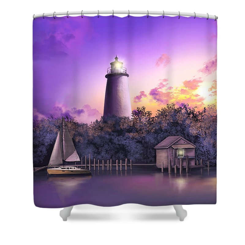 Ocracoke Island Shower Curtains
