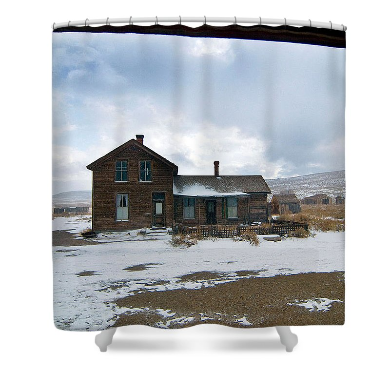California Shower Curtain featuring the photograph Old House by Norman Andrus