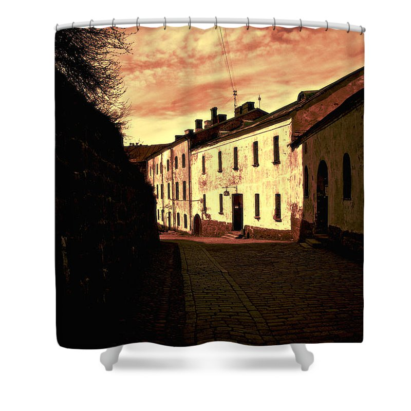 House Shower Curtain featuring the photograph Old House by Lyriel Lyra