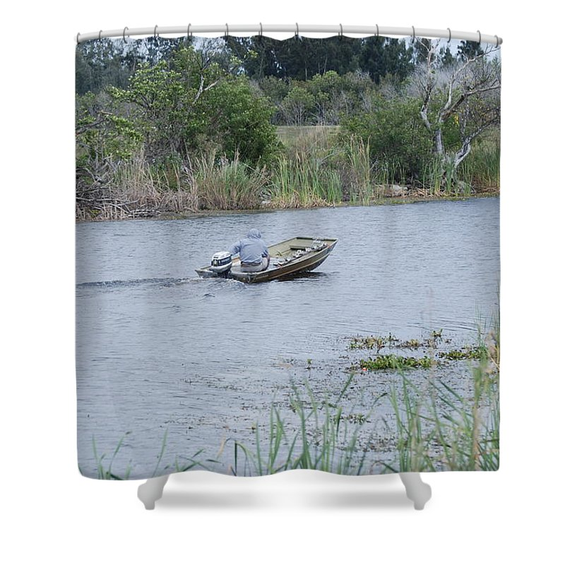 River Shower Curtain featuring the photograph Old Man River by Rob Hans
