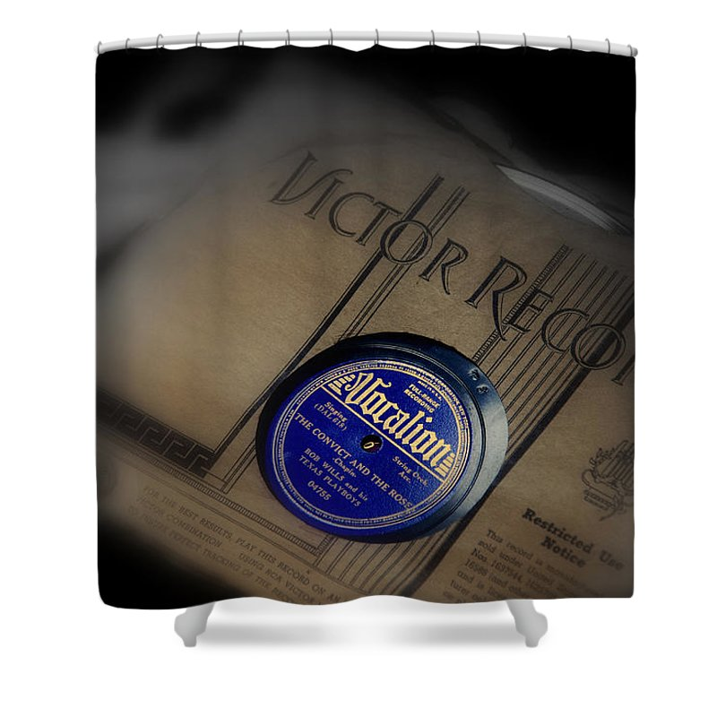 Photography Shower Curtain featuring the photograph Old Memories by Susanne Van Hulst